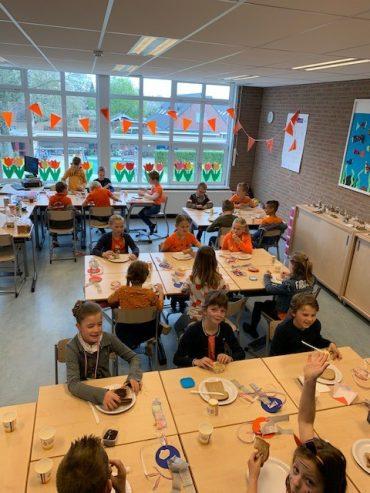 Groep 4 – Koningsontbijt