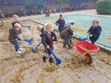 Herfst bij de Peutergroep