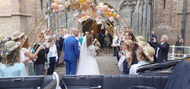 Onze juf is getrouwd!
