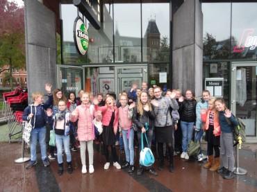Groep 8 bezoekt het Rijksmuseum