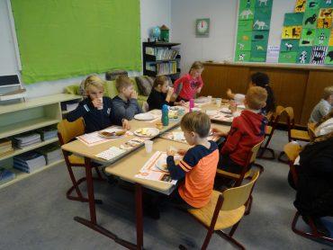 De klassenlunch