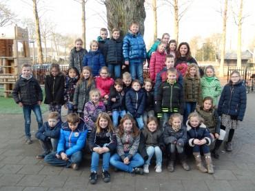 Groep 5 – Afscheid juf Van Leerdam