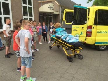 Groep 7a – Actie voor Stichting Ambulance Wens