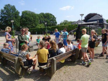 Groep 7 op schoolreis naar Duinoord