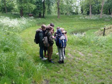 Groep 6 bezoekt de Stadswallen in Zaltbommel